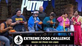 Challenge Makan Mie Pedas 500 CABAI | HITAM PUTIH (13/09/18) 2-4