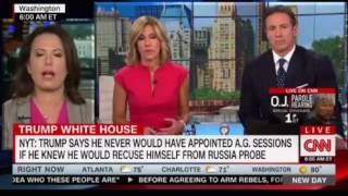 Trump attacking Jeff Sessions in his own Words CNN New Day Cuomo interviews Maggie Haberman NYT
