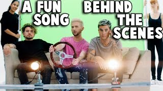 Download Lagu a Fun Song BEHIND THE SCENES of Music Video Gratis STAFABAND