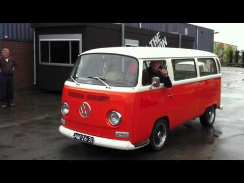 Maiden ride VW T2 - full electric - 260km range