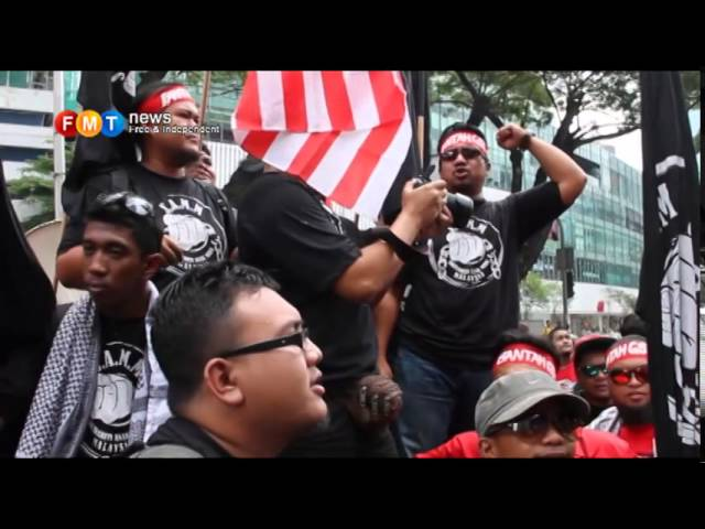 Anti-GST rally gaining momentum at KLCC