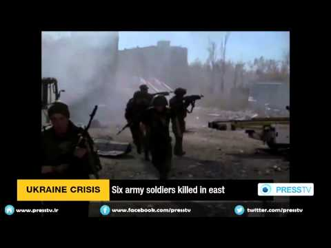 Six Army Soldiers Killed In East Ukraine