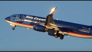 (HD) Joy of Plane Spotting  - Watching Airplanes Minneapolis St. Paul International Airport