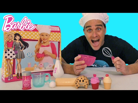 Barbie Such a Sweetie Pastry Set  ! || Toy Reviews || Konas2002
