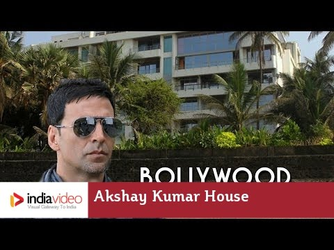 Bollywood Actor Akshay Kumar and Twinkle Khanna's House in Mumbai