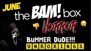 "June 2018 ""Horror Bam Box"" Unboxing Video"