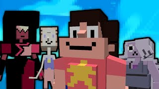 WE ARE THE CRYSTAL GEMS! Steven Universe Mod in Minecraft!