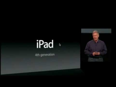 New Apple iPad Mini - Unveiled First Look and Overview TIM COOK