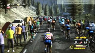 Tour De France 2013 - PS3 - [ Saint-Girons - Bagneres-de-Bigorre] - STAGE 9 - Contador Crash 2 times