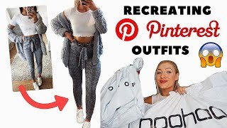 $350 RECREATING PINTEREST OUTFITS | HOW DID I DO?!