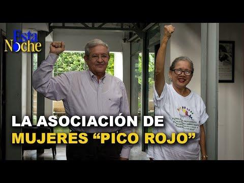 José Dolores Blandino y la Asociación de mujeres del
