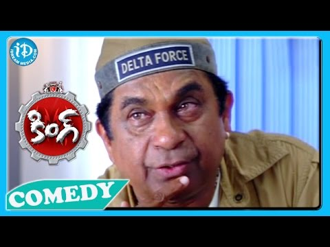 Brahmanandam Back To Back Funny Scenes - King Movie video