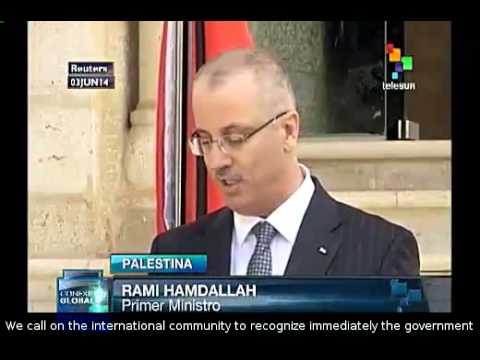 he world must recognize the Palestinian unity government: Hamdallah