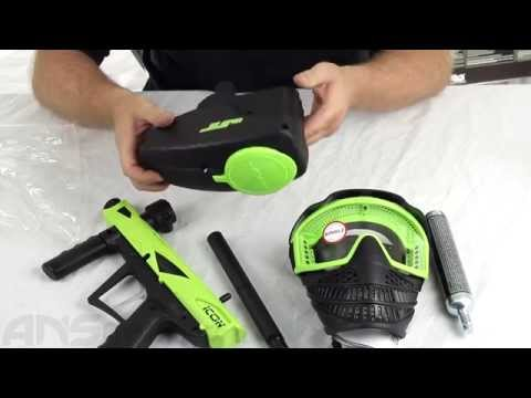 JT E-Icon Paintball Gun Mega Kit - Product Walk Through