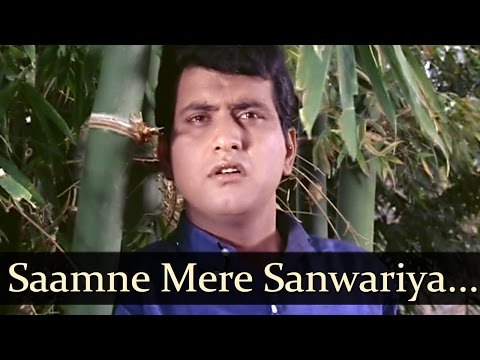 Saamne Mere Sanwariya - Sadhana - Manoj Kumar -  Anita - Bollywood Old Songs - Lata Mangeshkar video
