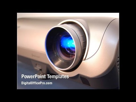 Film Projector PowerPoint Template Backgrounds - DigitalOfficePro #02452