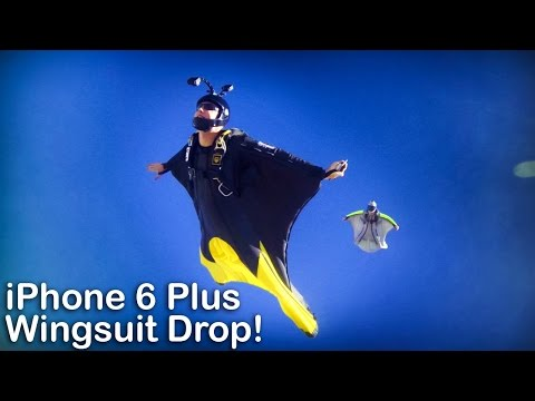 iPhone 6 Plus Wingsuit Drop