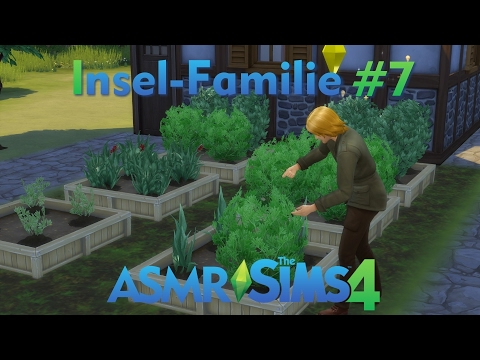 ASMR - Sims 4 - Insel-Familie #7 - deutsch - Erfolge im Garten