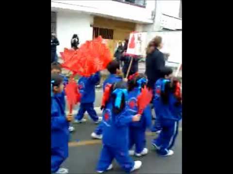 Gracia en su desfile de antorchas youtube for V encarnacion salon