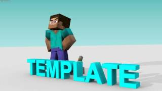 FREE MINECRAFT REDSTONE INTRO TEMPLATE - 60FPS 1080p SUPER FAST RENDER TIMES