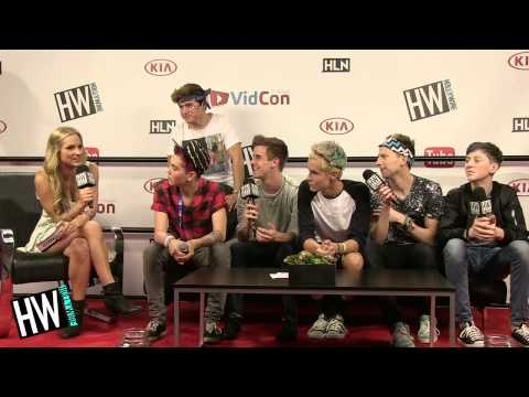 'O2L' Do Impressions Of Each Other & Talk Crazy Fans! (VIDCON 2014)