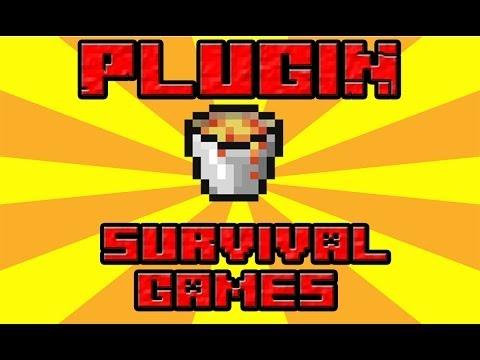 Minecraft Plugin-Suvival Games- Como poner arenas de los juegos del hambre