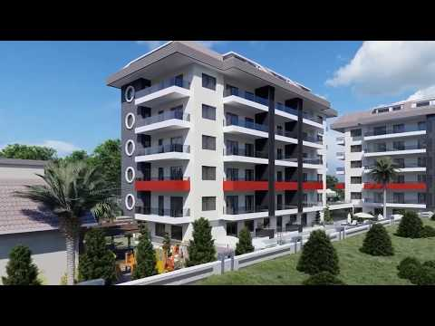 New Apartments in Alanya with Walking Distance to Kestel Beach - TERRA Real Estate