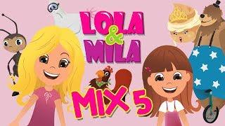 LOLA & MILA // MIX 5 // CRTANI FILM // (2018)