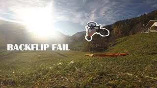 BACKFLIP FAIL😱HOW to BRUISE your FOOT+Chainless Bike!!?