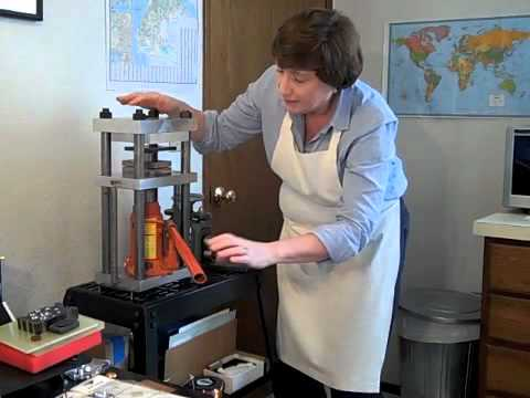 Hydraulic Press Demo