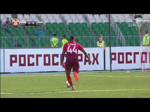 Саммари матча «Уфа» - «Ахмат»