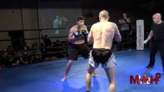 Muay Thai KO from Hell - Lewis vs Lucero