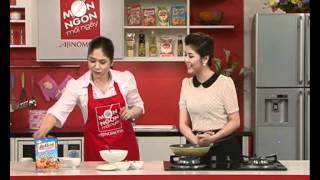 Cách chế biến món Bánh chiên hải sản