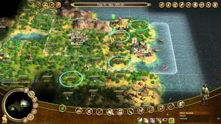 Let's Play Civ IV Colonisation 2 (The First Years, The Royal Tosspot, Founding Father Acquisition)