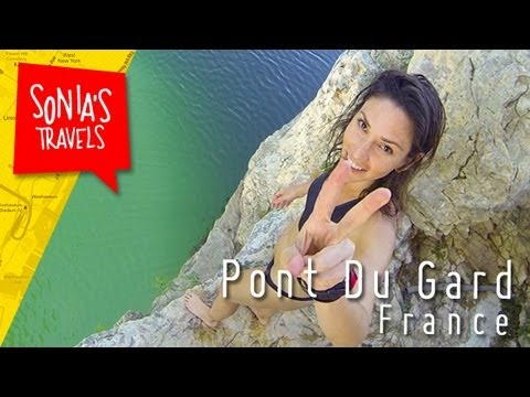 Travel France: Swimming under Roman Ruins in France
