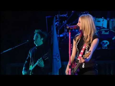 Avril Lavigne - Live In Toronto 2008 - My Happy Ending [hd] video