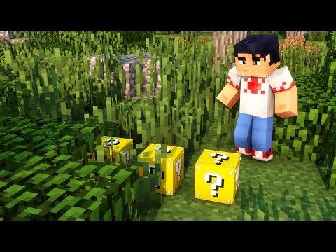 Minecraft Mods 1.8 - Lucky Block Mod (LUCKY BLOCK 1.8 NOVO) Mod Showcase