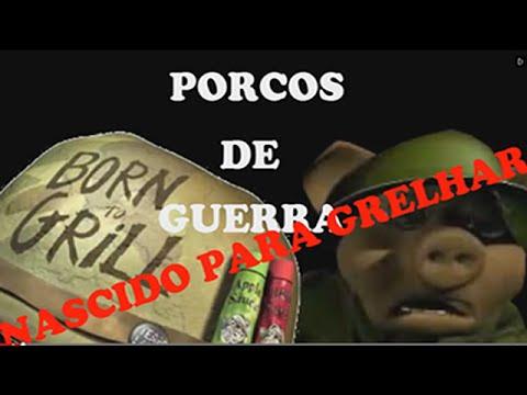 Jogo De Guerra De Porcos---hogs Of War