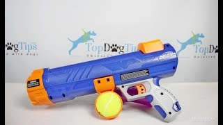Nerf Dog Tennis Ball Blaster Review
