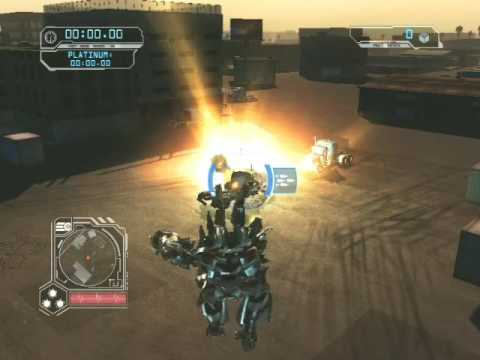Transformers 2: Revenge of The Fallen Free Roam Gameplay with Sideways