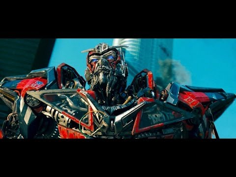 Transformers Dark of the moon  Optimus prime vs Sentinel prime...