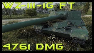 World of Tanks WZ-111-1G FT Tier 8 Chinese TD - Mines