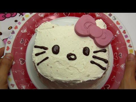 Hello Kitty Handmade Cake Kit ~ ハローキティ ハンドメイドケーキ 簡単