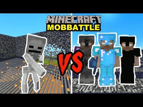 Minecraft กองทัพฮีโร่บราย Vs โครงกระดูกยักษ์ มาดูกันใครจะชนะ!? (สังเวียนมายคราฟ)