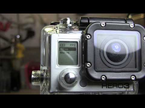 GoPro Hero 3 Black Edition Video Settings : WVGA, 720P, 960P, 1080P & 1440