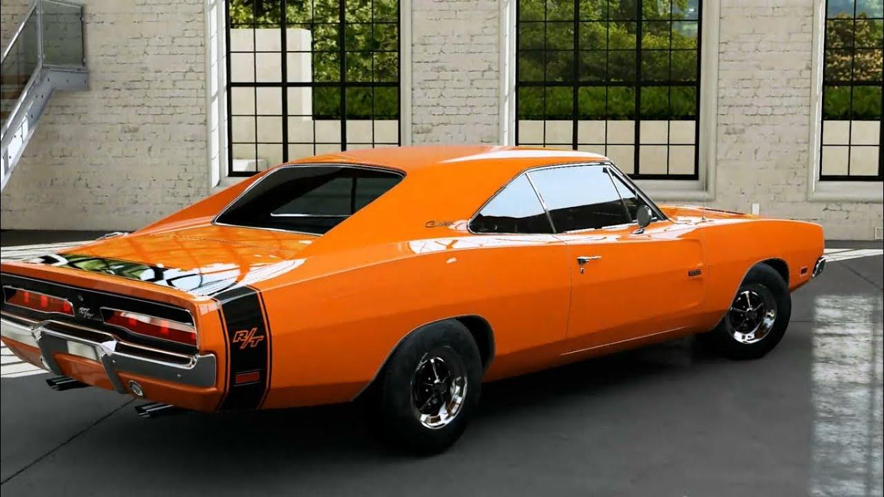 Dodge Challenger 1969 Black >> Forza Motorsport 5 - 1969 Dodge Charger R/T - YouTube