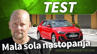 2019 audi A1 sportback 30 TFSI S line - test