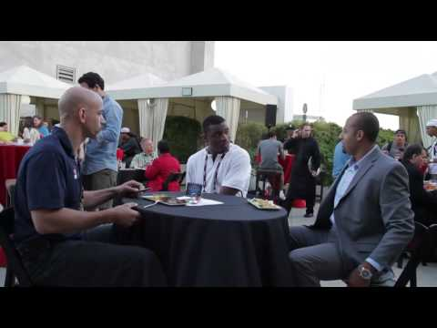 Hank Baskett on NFLPA Rookie Premiere