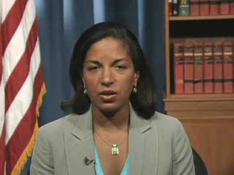 Dr. Susan E. Rice on Barack's Foreign Policy Plans