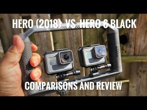 GoPro Hero (2018) vs Hero 6 Black | Comparison and Review